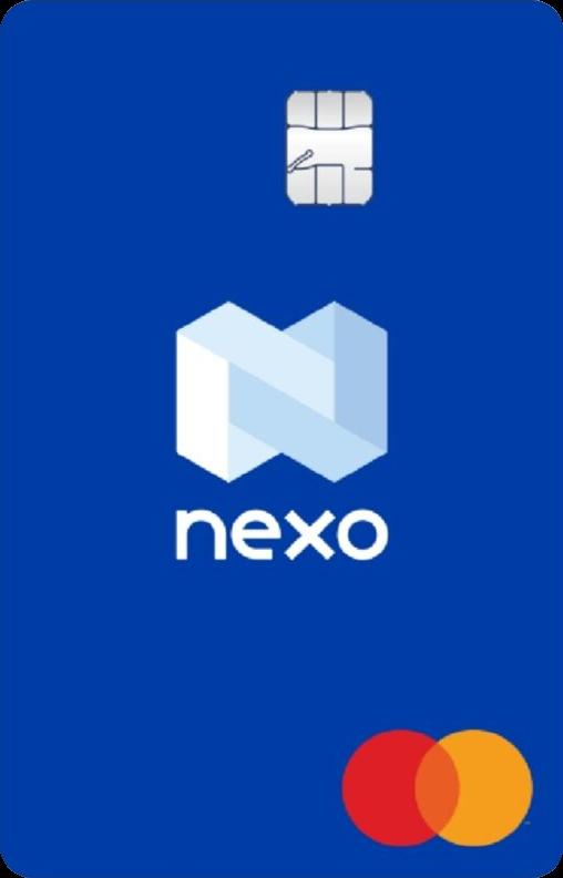 Nexo Crypto Mastercard